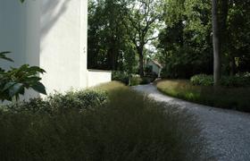 Avantgarden Hedendaagse tuinen Raakpunt-tussen natuur en architectuur