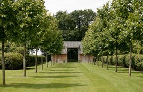 Avantgarden Landelijke tuinen Architecturaal huwelijk