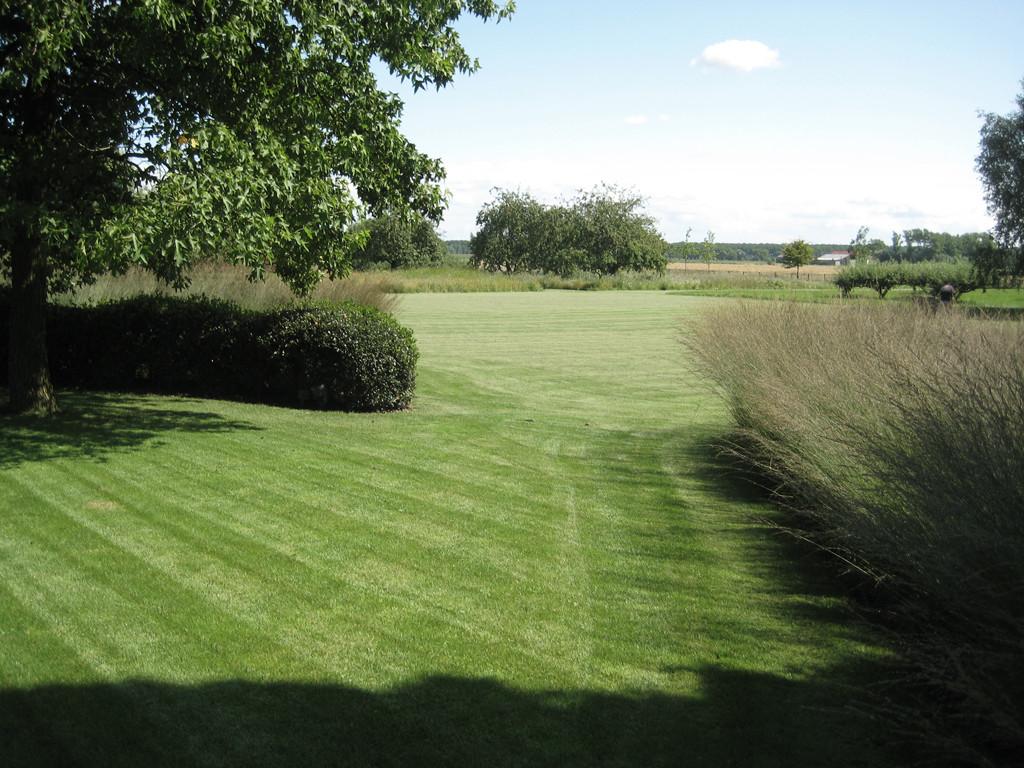 renovatie landelijke tuin