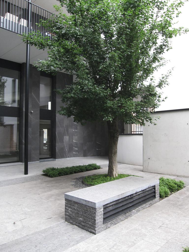groeninrichting binnenplaats