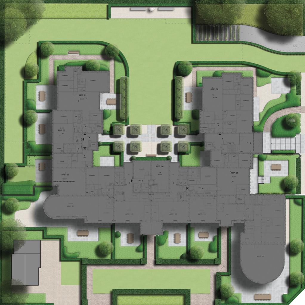 tuinaanleg residentieel domein