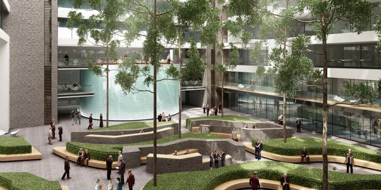 Avantgarden-Interieuraanplantingen-Binnenplein-met-hoge-bomen-03