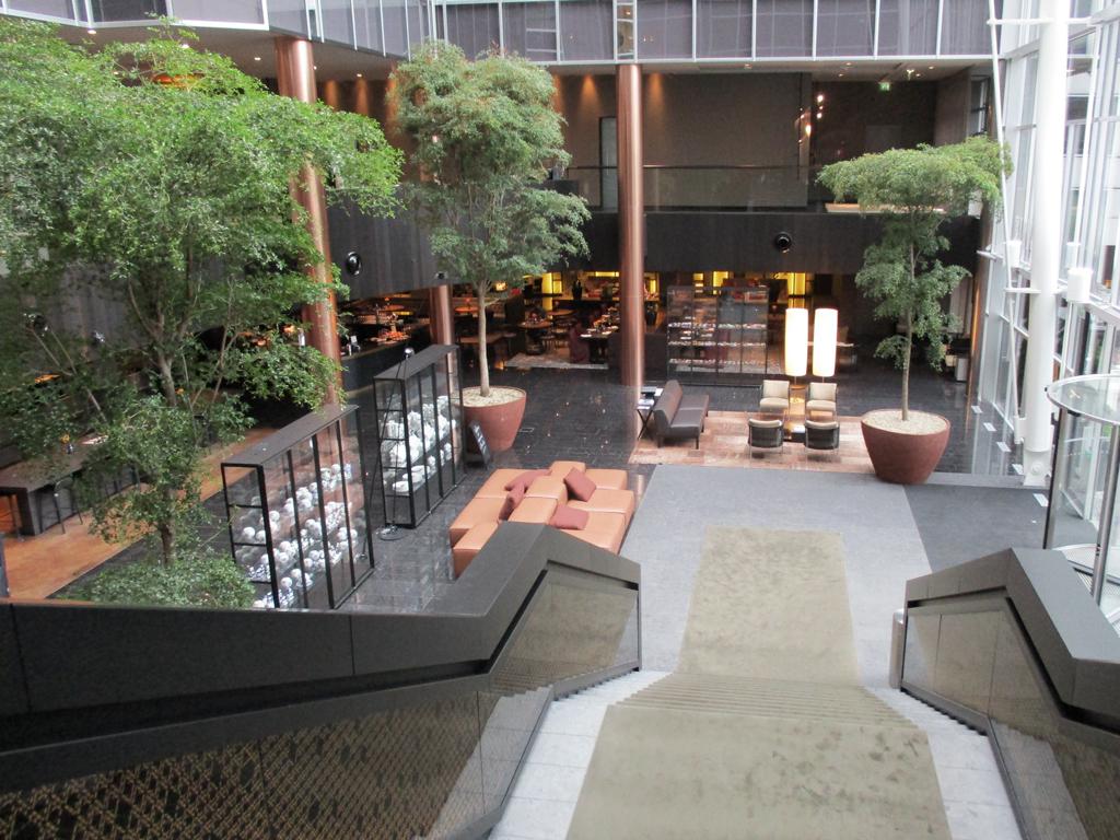 Interieuraanplanting voor kantoorrenovatie avantgarden
