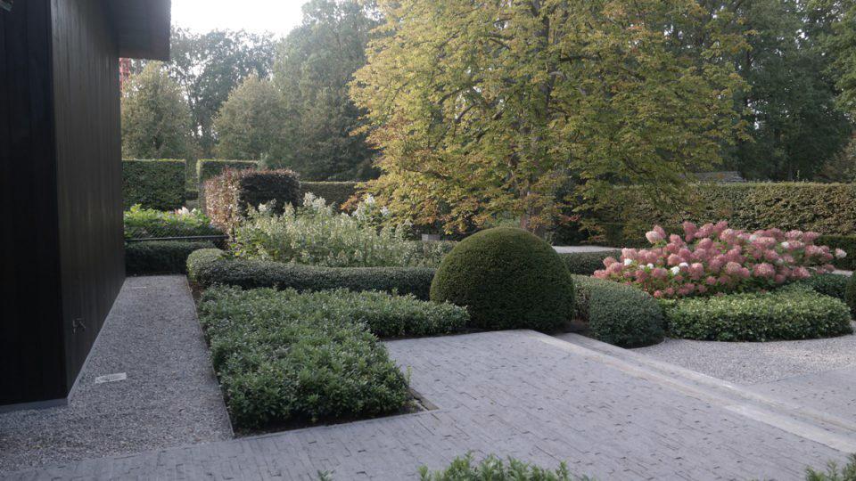 Villatuin in de rand rond Antwerpen